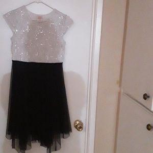Wonder Nation GIRL'S Plus Size Dress